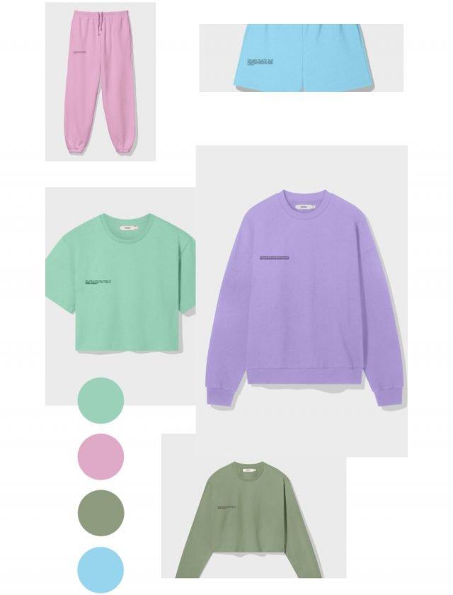 The Pangaia garments pants and hoodies
