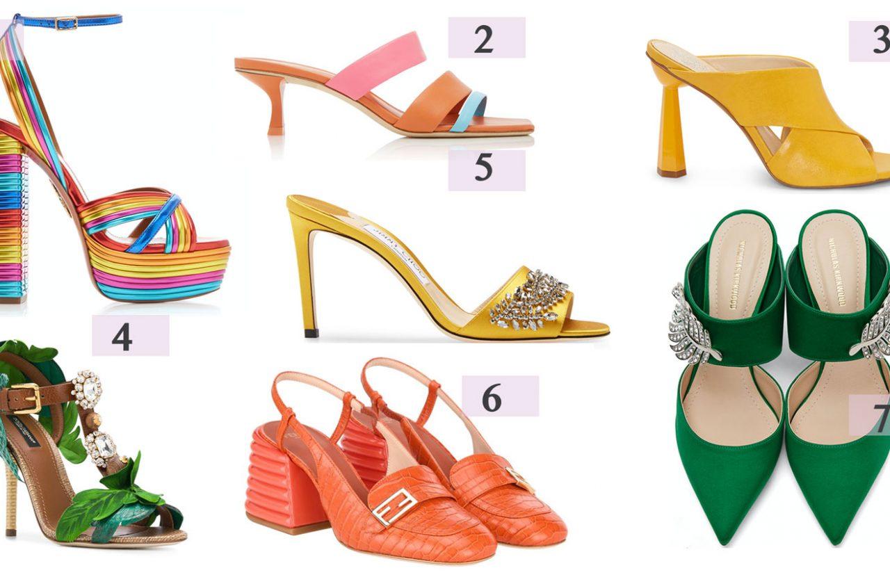 Summer Shoe Trends 2020