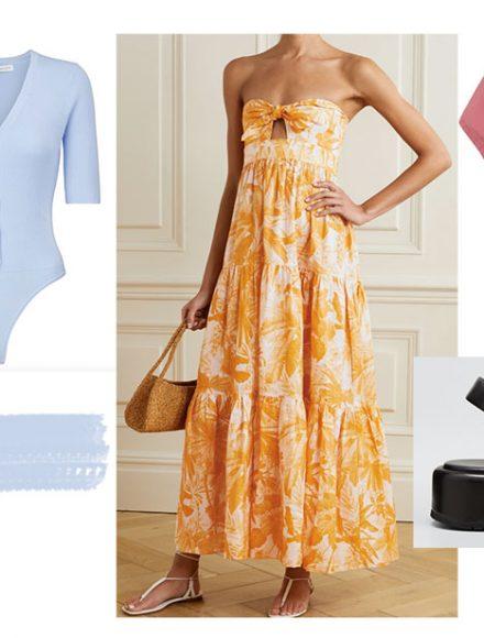 summer trends 2021 dress sandals skirts