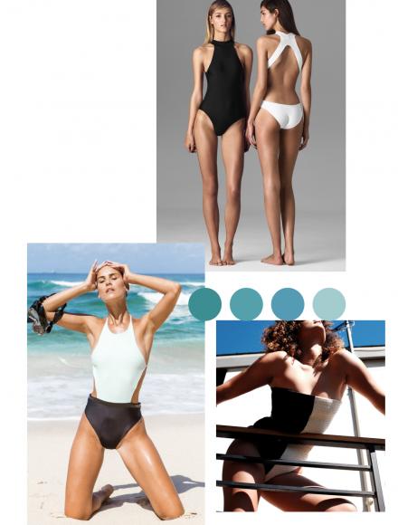 black and white sustainable swimwear brands